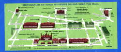 Map of the Smithsonain Museums, The Folklife Festival